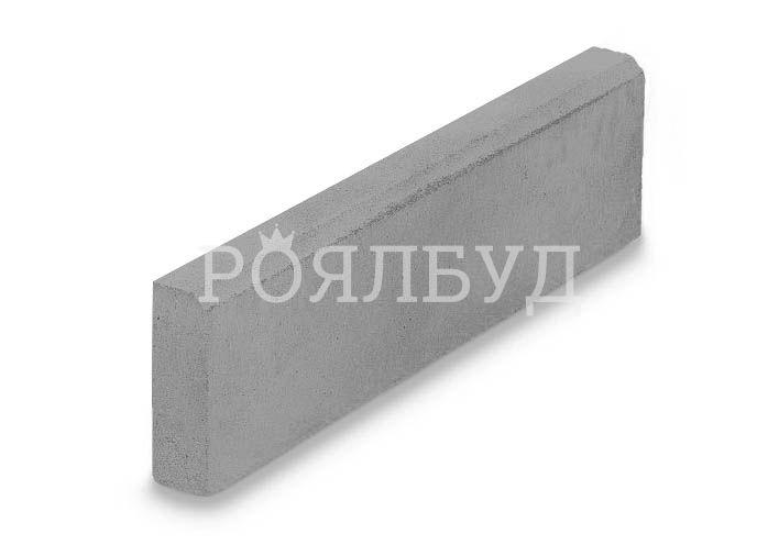 Поребрик 100x20x8см Сірий