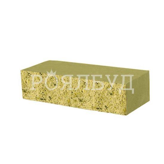 Фасадний камінь Рустик стандартний 250х100х65 сахара