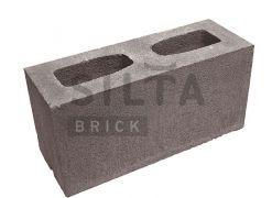 Блок гладкий Silta Brick коричневый