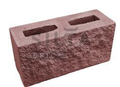 Блок декоративний Silta Brick вишневий #24-2