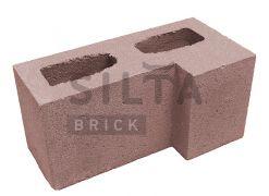 Блок гладкий кутовий Silta Brick червоний #53
