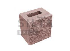 Напівблок декоративний Silta Brick червоний #53